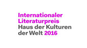 logo internationale literaturpreis 2016