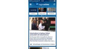 Logo Tagesschau App