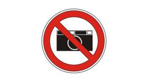 Fotografierverbot im Museum
