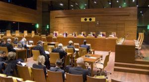 Sitzungssaal Europäischer Gerichtshof